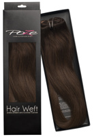 Poze Standard Hairweft - 110g Chocolate Brown 4B - 50cm