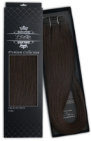 Poze Premium Clip & Go Hair Extensions - 125g Midnight Brown 1B - 50cm
