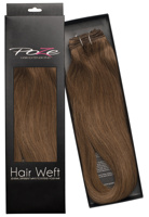 Poze Standard Hairweft - 110g Mocha Brown 7BN - 50cm