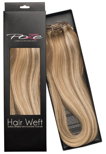 Poze Standard Hairweft - 110g Ash Mix 8A/10NV - 50cm