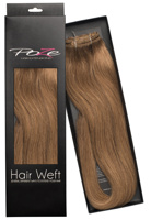 Poze Standard Natural Hairweft - 110g Light Brown 8B - 50cm