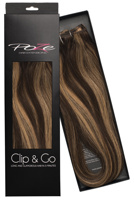 Poze Standard Clip & Go Hair Extensions - 125g Chocco Cola 4B/9G - 60cm