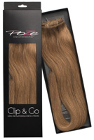 Poze Standard Clip & Go Hair Extensions - 125g Light Brown 8B - 50cm