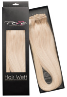 Poze Standard Hairweft - 110g Pure Blonde 12A - 50cm