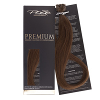 Poze Premium Keratin Extensions Lovely Brown 6B - 50cm