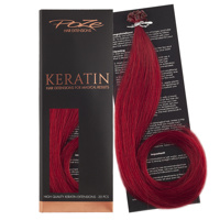 Poze Standard Keratin Extensions Intense Red 7R - 50cm