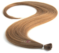 Poze Standard Magic Tip Extensions Light Ash Brown 8A - 50cm