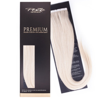 Poze Premium Tape On Hair Extensions - 52g Platinum+ 1001 - 50cm