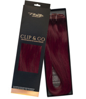 Poze Standard Clip & Go Hair Extensions - 125g Red Passion 5RV - 50cm