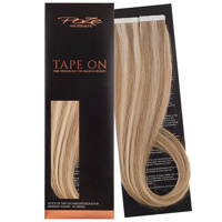 Poze Premium Tape On Hair Extensions - 52g Ash Mix 8A/10NV - 50cm