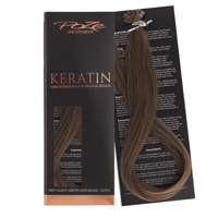 Poze Standard Keratin Extensions Cool Brown 7NV - 50cm
