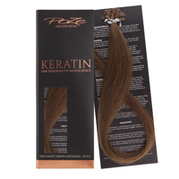 Poze Standard Keratin Extensions Mocca Brown 7BN - 40cm