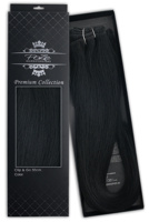 Poze Premium Hair Weft - 110g Midnight Black 1N - 50cm