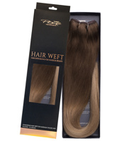 Poze Standard Hairweft - 110g Sandy Brown Balayage 7BN/10B - 50cm
