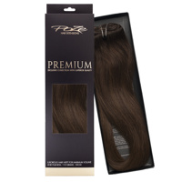 Poze Premium Hair Weft - 110g Chocolate Brown 4B - 50cm