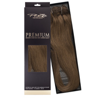 Poze Premium Hair Weft - 110g Lovely Brown 6B - 50cm