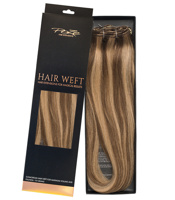 Poze Standard Hairweft - 110g Sandy Brown Mix 10B/7BN - 60cm