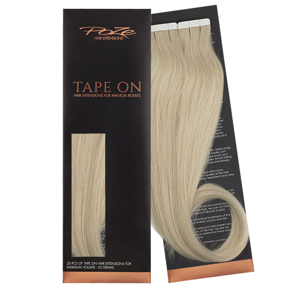 Poze Standard Tape On Extensions - 52g Ash Blonde 10NV - 50cm
