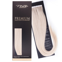 Poze Premium Tape On Hair Extensions - 52g Platinum 12NA - 60cm