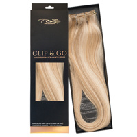 Poze Standard Clip & Go Hair Extensions - 125g Sunkissed Beige 12NA/10B - 60cm