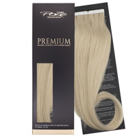 Poze Premium Tape On Hair Extensions - 52g Ash Blonde 10NV - 50cm