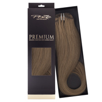 Poze Premium Clip & Go Hair Extensions - 125g Cool Brown 7NV - 50cm