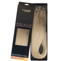 Poze Standard Hairweft - 110g Ash Mix Balayage 8A/10NV - 50cm