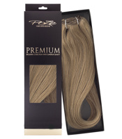 Poze Premium Hair Weft - 110g Light Ash Brown 8A - 50cm