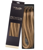 Poze Premium Hair Weft - 110g Sandy Brown Mix 10B/7BN - 50cm