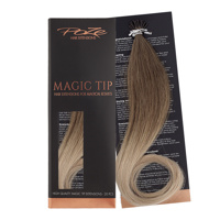 Poze Standard Magic Tip Extensions Sandy Brown Balayage 7BN/10B - 50cm