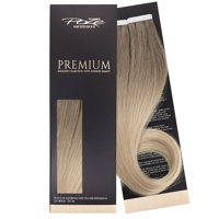 Poze Premium Tape On Hair Extensions - 52g Ash Mix Balayage 8A/10NV - 50cm