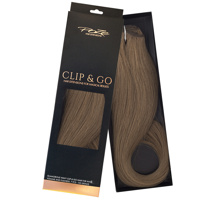 Poze Standard Clip & Go Hair Extensions - 125g Cool Brown 7NV - 50cm