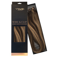 Poze Standard Wire & Clip Extensions - 130g Chocco Cola 4B/9G  - 50cm